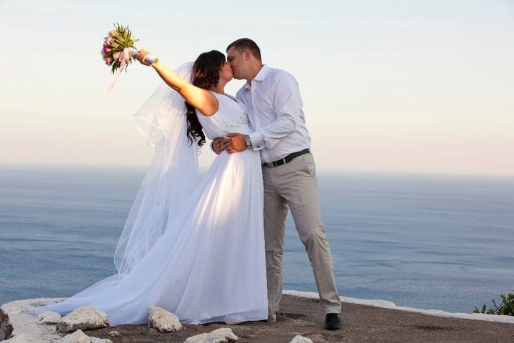 wonderful wedding in rhodes