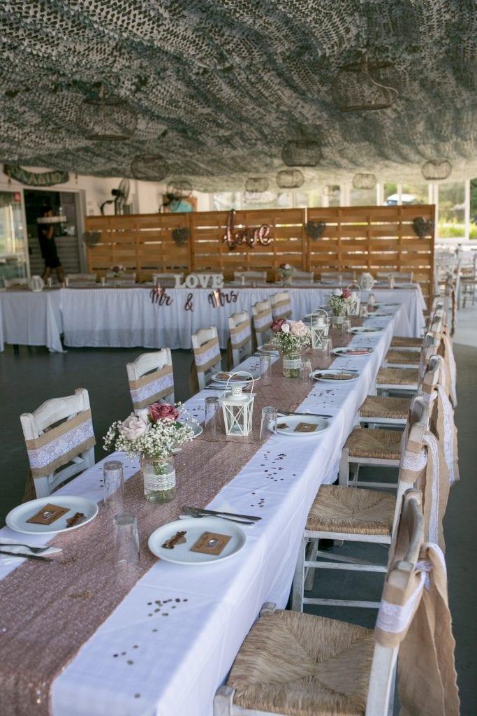 wedding reception in Rhodes