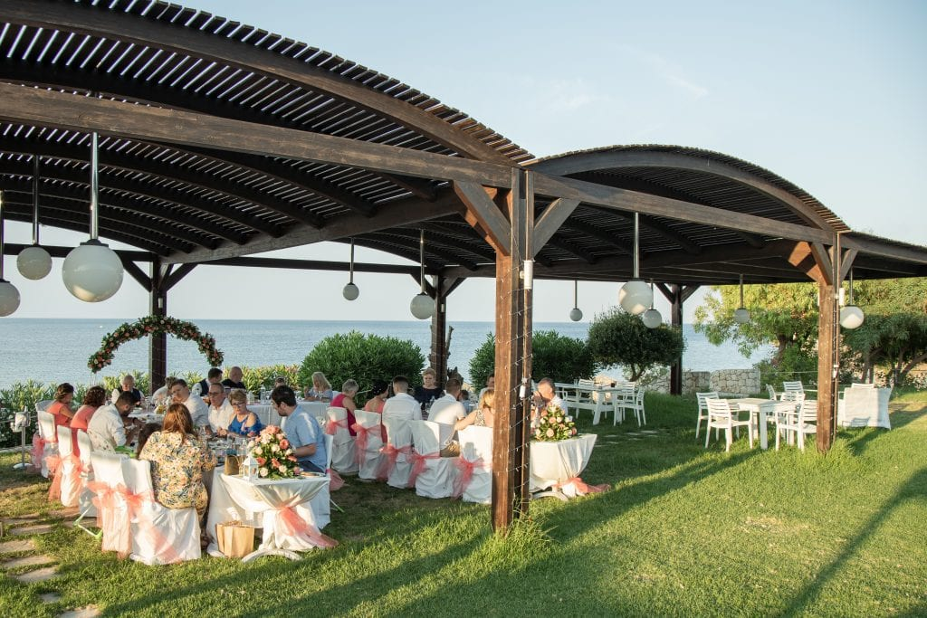 Tsambikos Taverna wedding reception