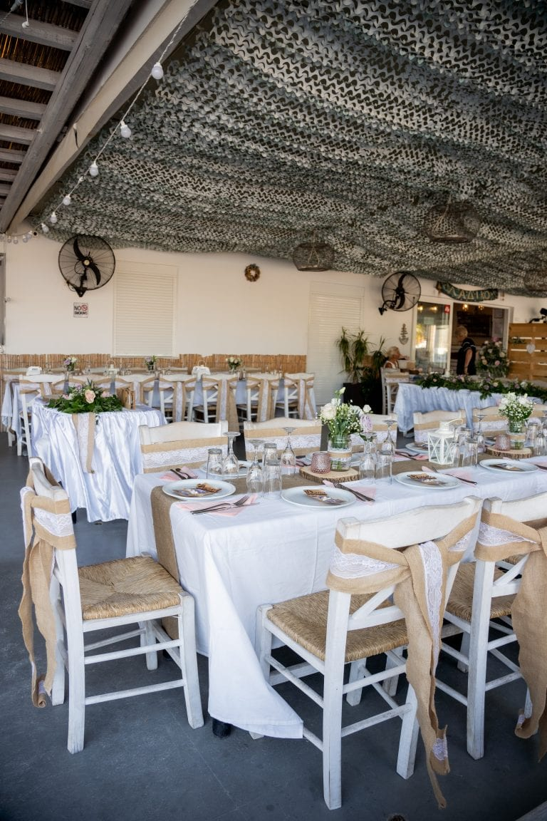 taverna reception Faliraki