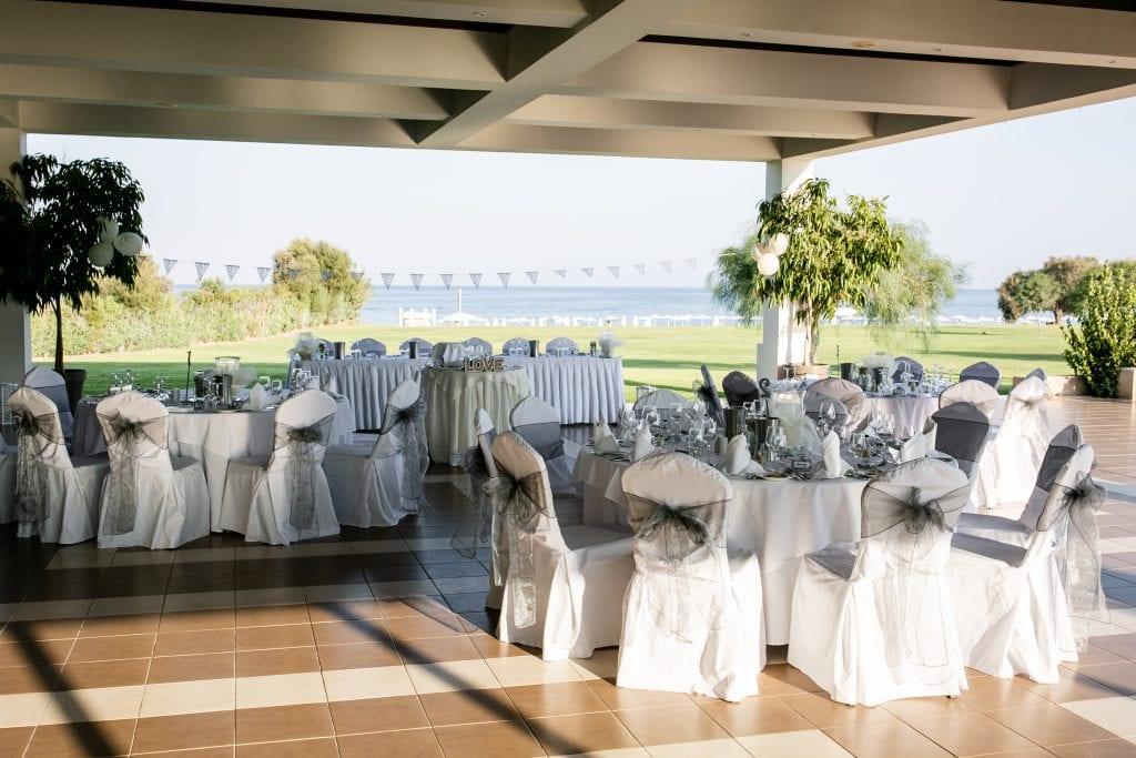 Apollo Blue wedding reception